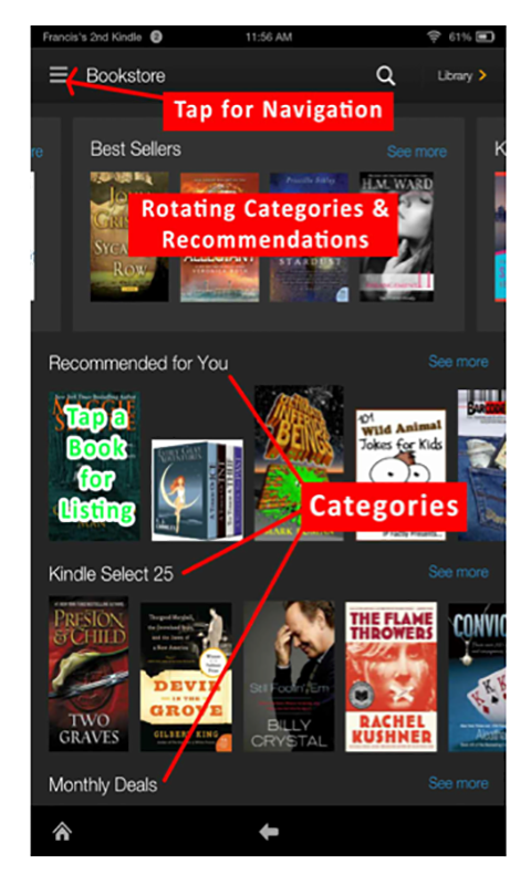 kindle fire hdx operating instructions