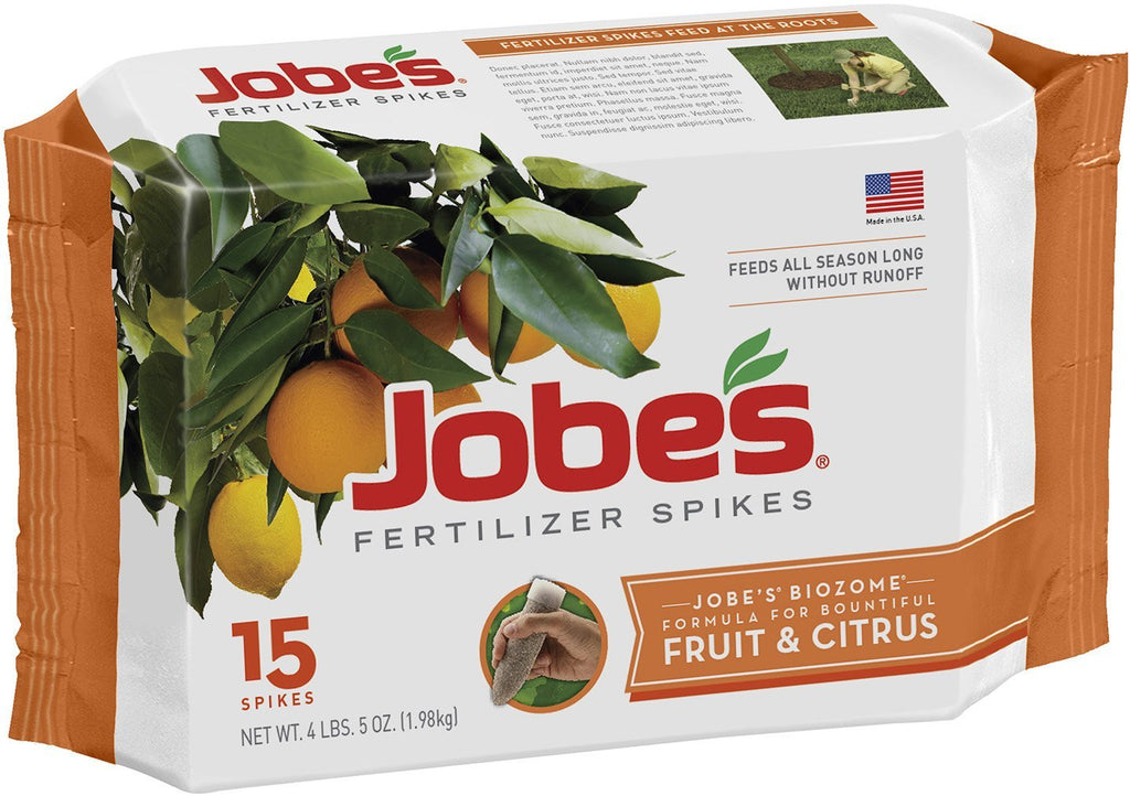 jobes fruit tree spikes instructions