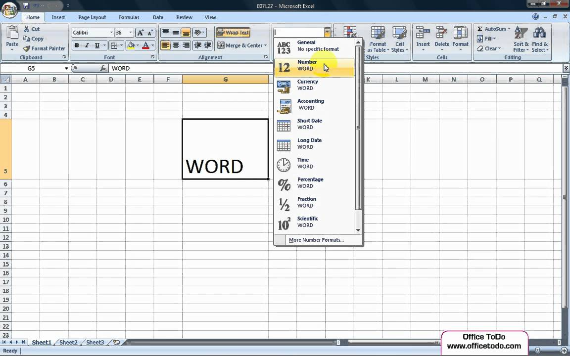 excel instruction text in cell