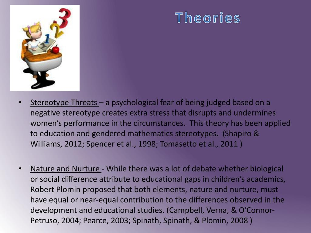 differentiated instruction and gender steretypes