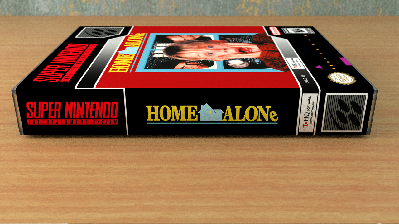 home alone nes instruction manual