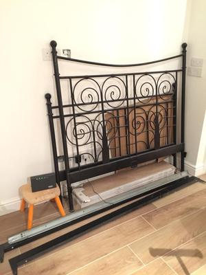 ikea metal bed instructions