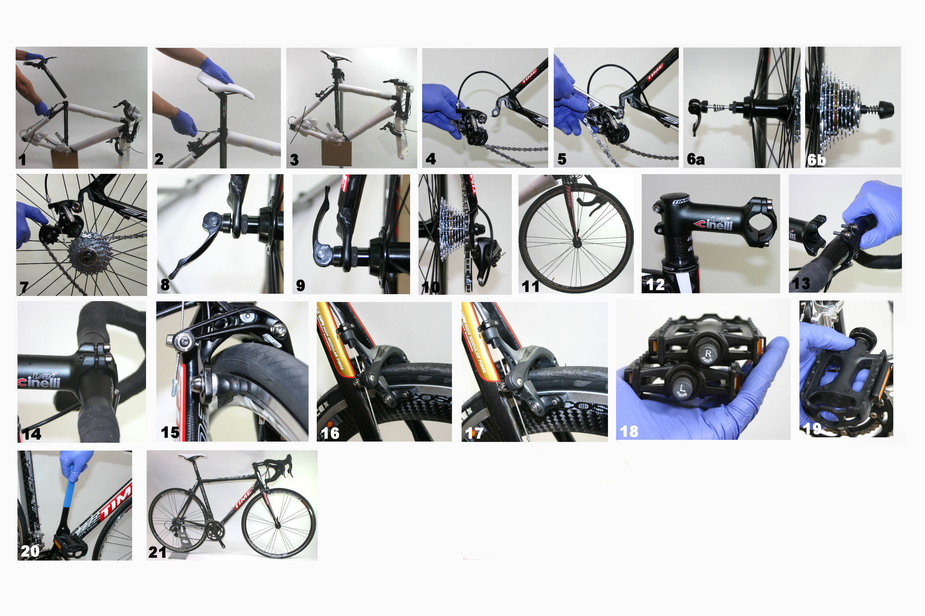 bicycle brake assembly instructions