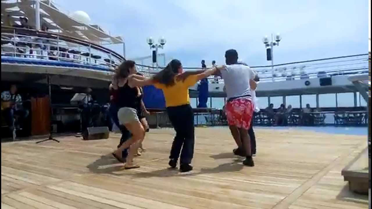dance instruction n a cruise