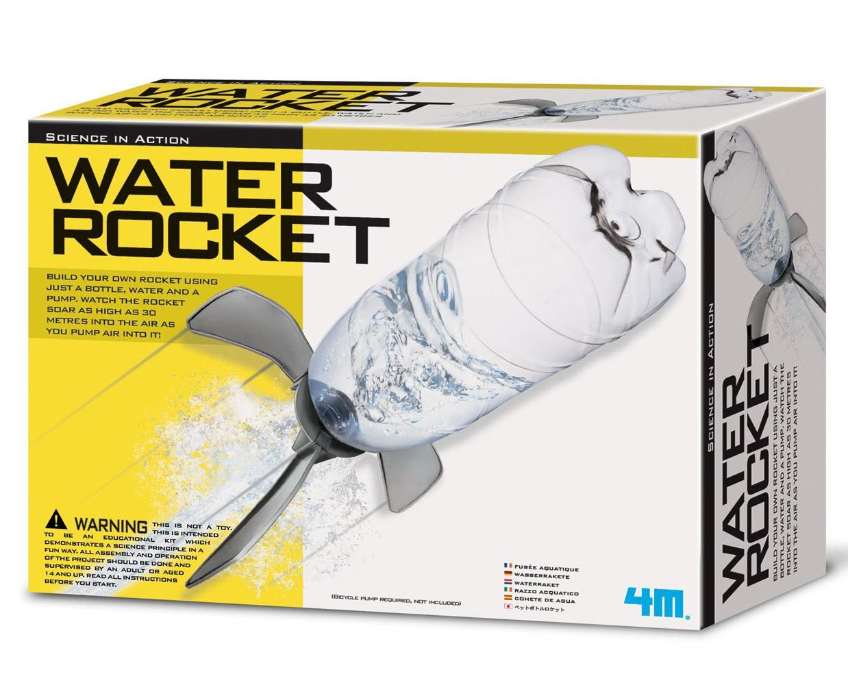 4m water rocket instructions