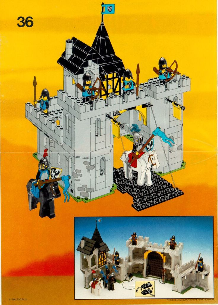 instructions for cinderella lego castle