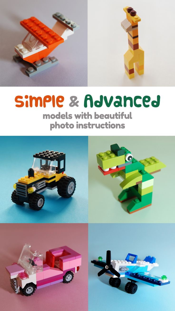 lego 42025 d model instructions