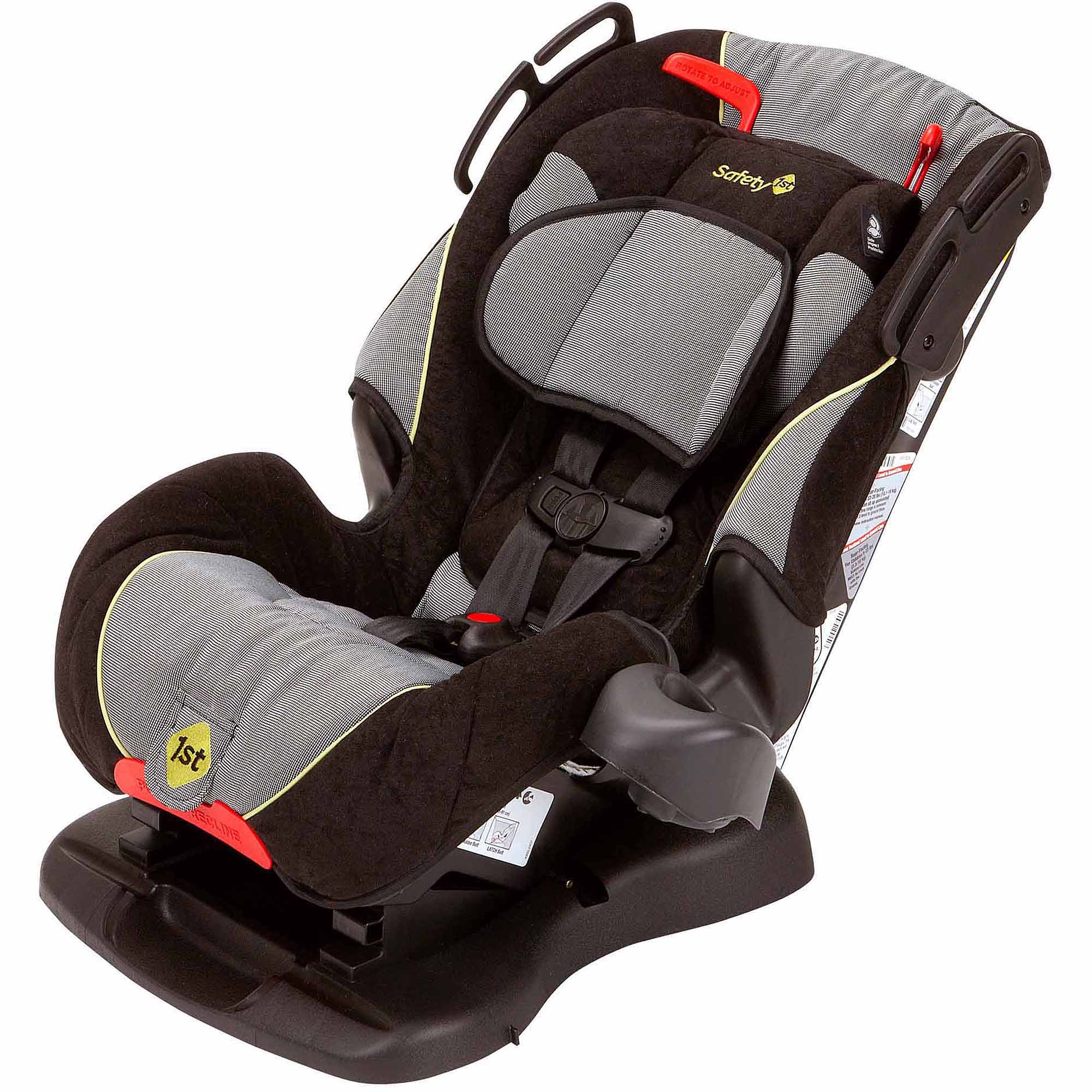 alpha elite car seat instructions