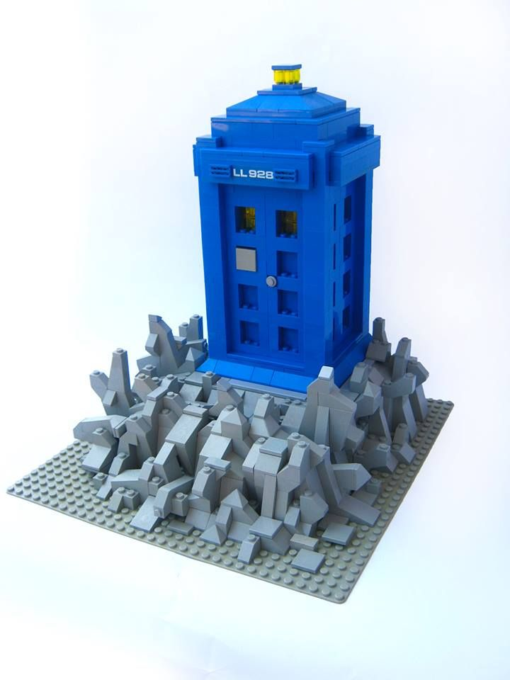 doctor who lego set instructions