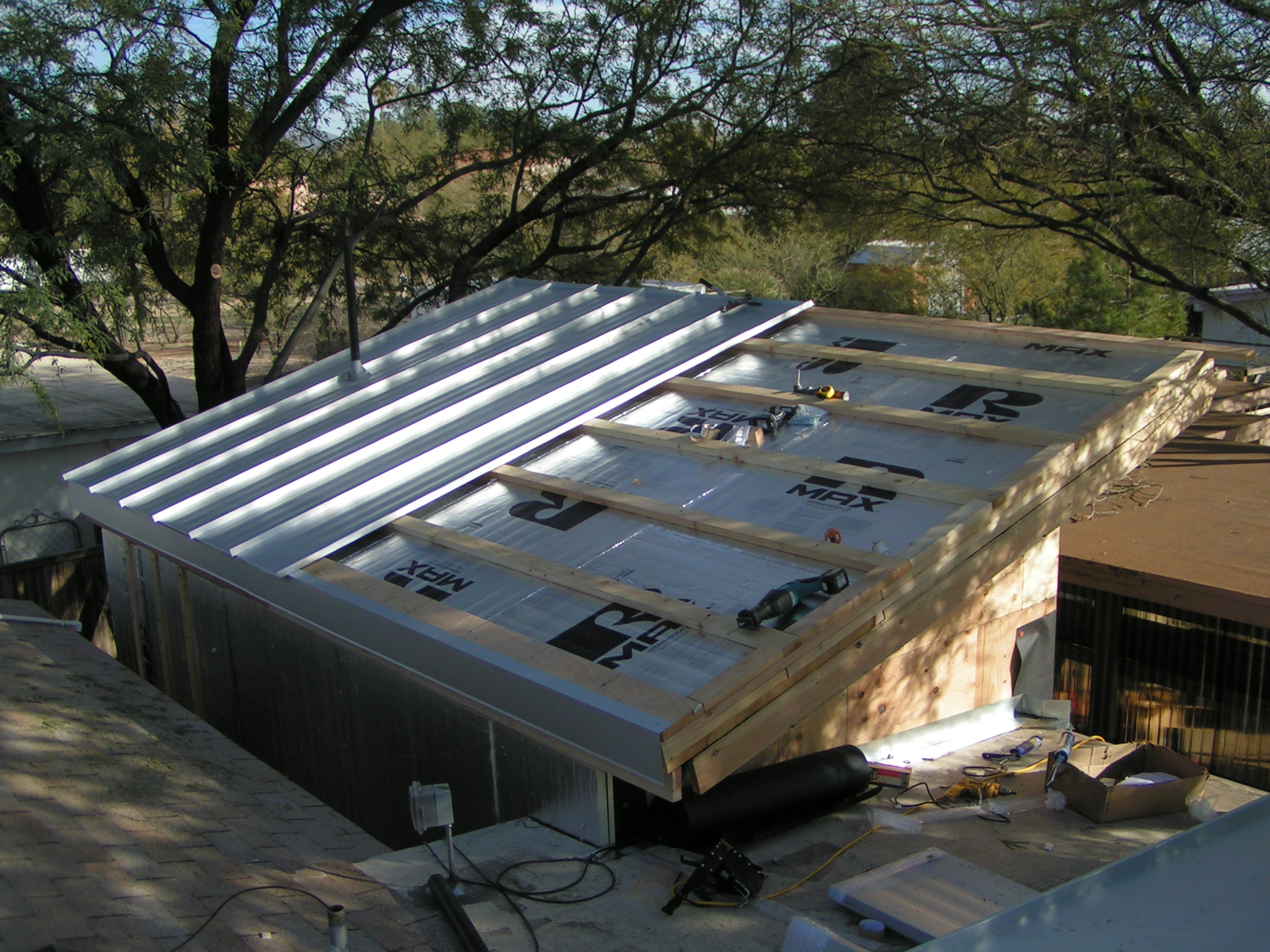 sheetmetal roof strapping installation instructions