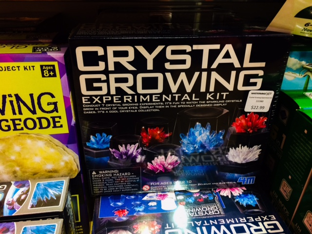 ultimate crystal growing kit instructions pdf