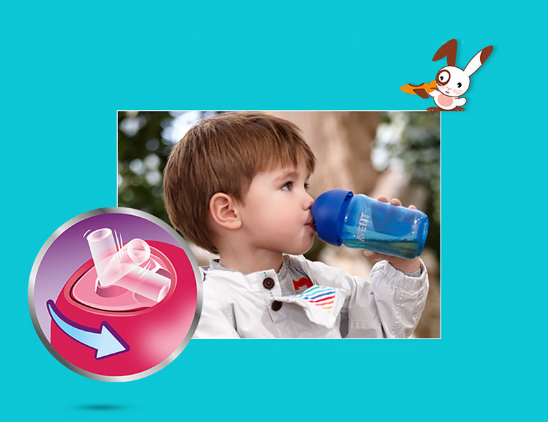 avent straw cup instructions