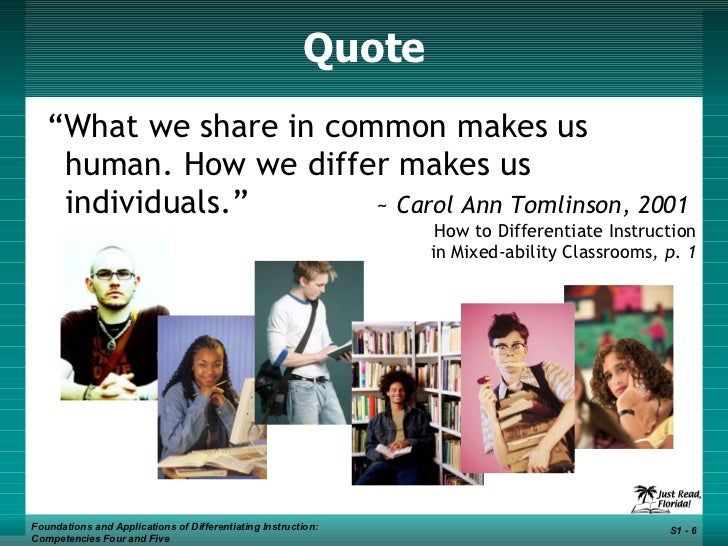 carol ann tomlinson how to differentiate instruction in mixed-ability classrooms