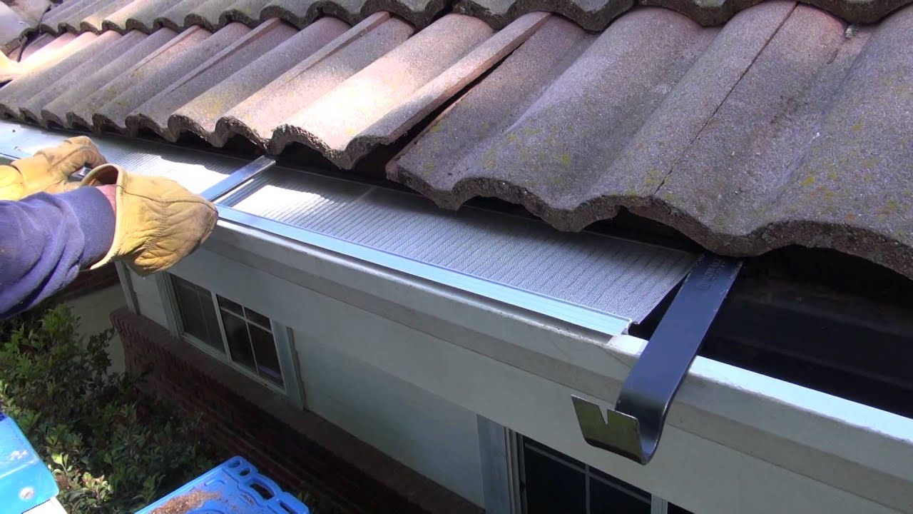 aluminum gutter downspout installation instructions