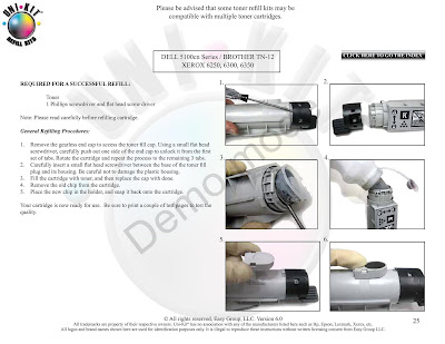 samsung ml-2010 toner replacement instructions