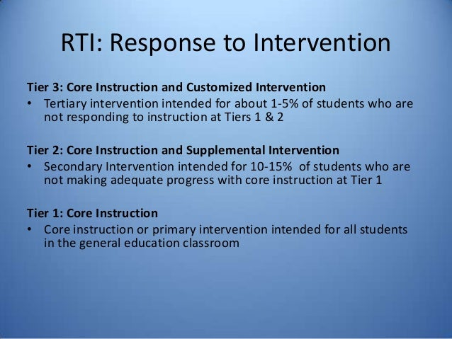 effective tier 1 instruction