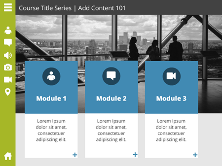 elearning templates instructional design