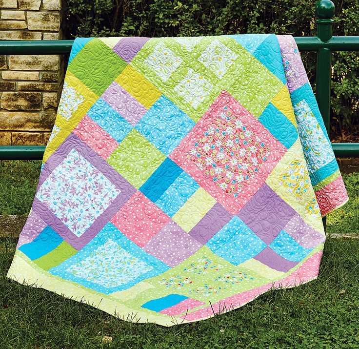 instructions on how to make a youth sized quilt