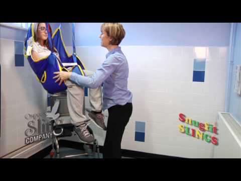 invacare toileting sling instructions