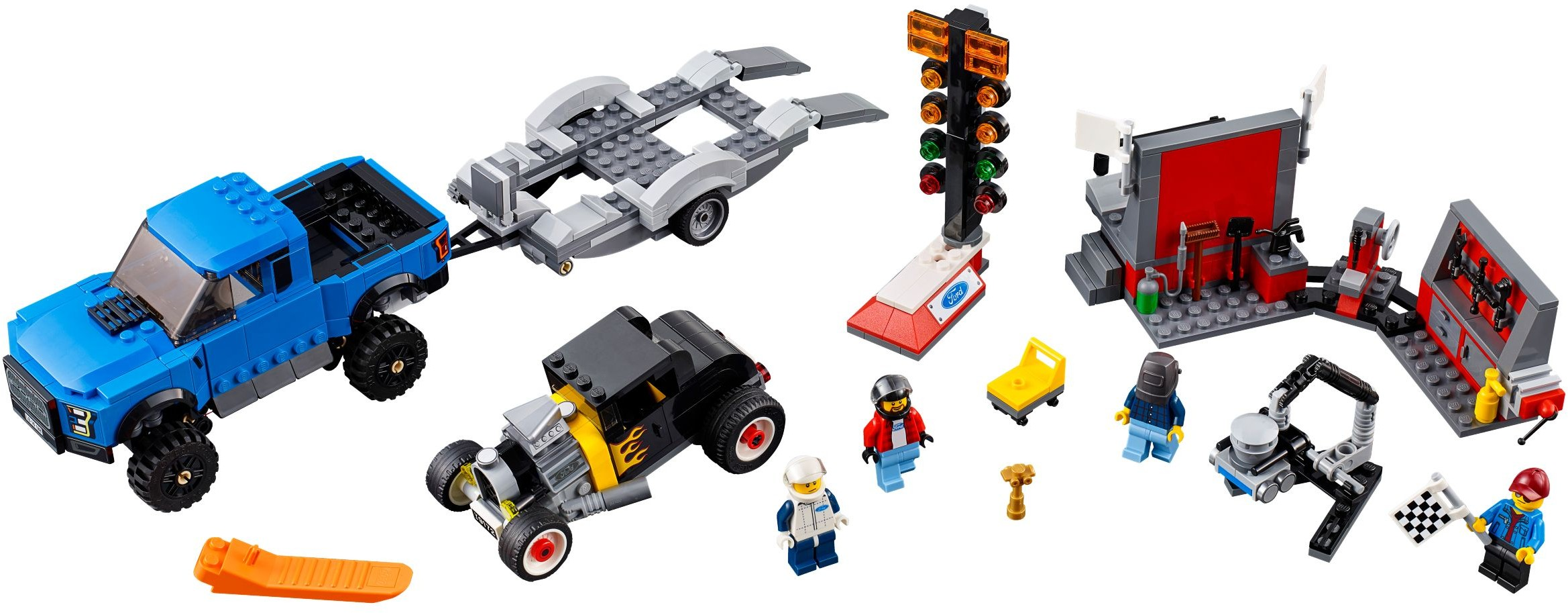 lego hot rod club instructions