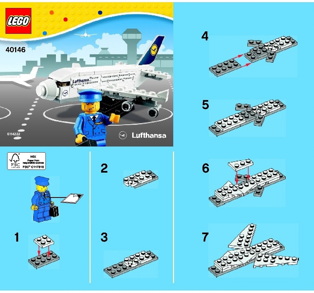lego instructions siple plane