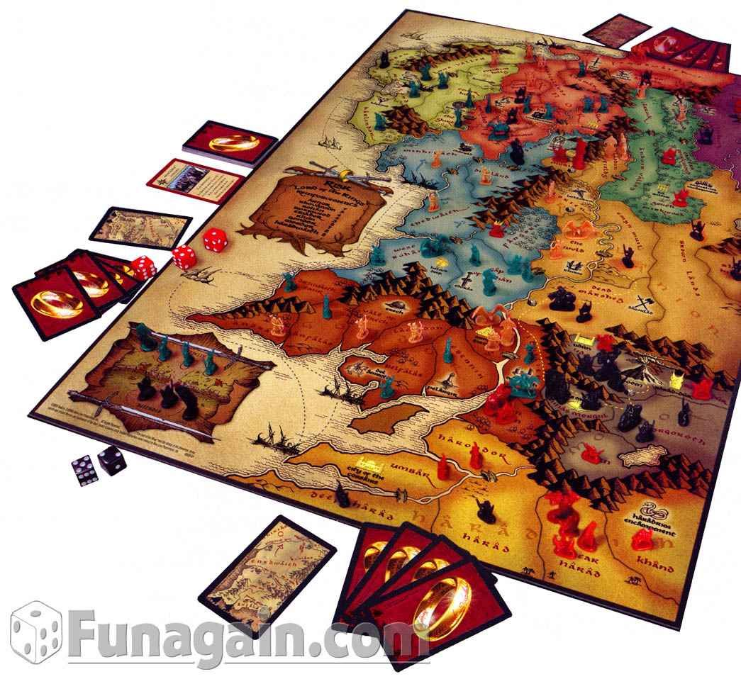 lord of the rings risk board game instructions