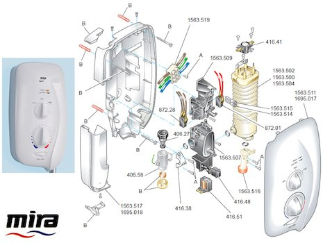 mira sport shower instructions