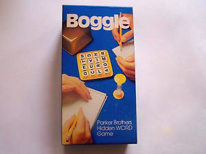 parker brothers boggle game instructions