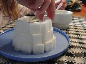 sugar cube castle instruction